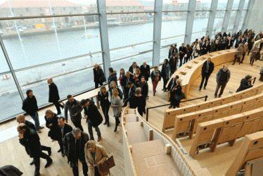 Inauguration du Carré des Docks