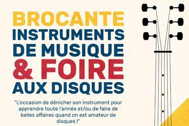 Brocante instruments de musique et foire aux disques