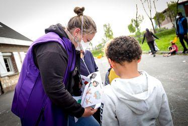 des équipes mobilisées pour l'accueil des enfants
