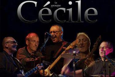 Le groupe Cécile en concert