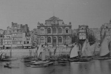 Une ville chargée d'histoire - Le Port du Havre en 1880