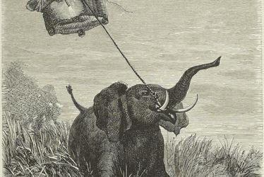 Edouard RIOU - Cinq semaines en ballon de Jules VERNE