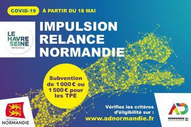 Le Havre Seine Métropole et la Région Normandie créent un dispositif d'aide directe aux entreprises et indépendants
