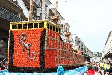 Le défilé du Corsiflor 2017 célèbre les 500 ans de la ville du Havre