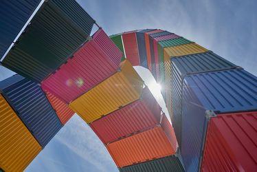 Vincent Ganivet, Caténaires – Catène de containers
