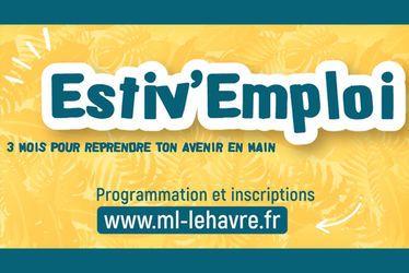Avec Estiv'Emploi, la Mission Locale du Havre accompagne les jeunes de 16 à 25 ans vers l'emploi