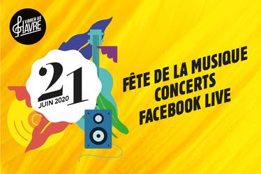 La Fête de la Musique en Facebook Live