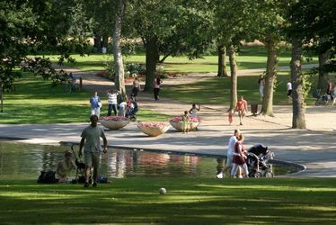Parc de Montgeon, bassin et petlouse - Laurent Bréard