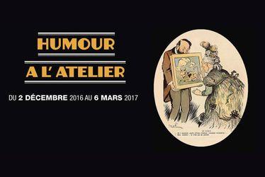 """""""Humour à l'atelier"""" quand l'amateur d'art est croqué par le caricaturiste"""