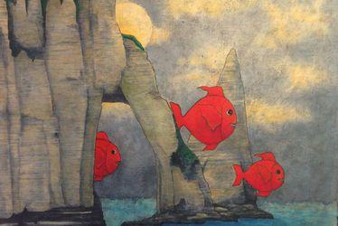 Exposition de peintures de Luc Michel