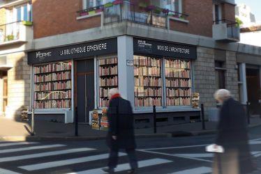 Bibliothèque éphémère
