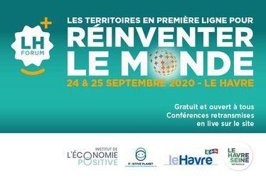 Les 24 et 25 septembre, 9e édition du LH Forum sous le thème des villes et territoires positifs