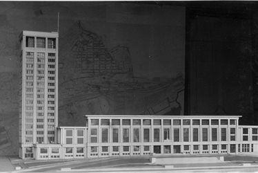 Visite de l'exposition l'hotel de ville du Havre, symbole de la reconstruction