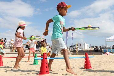 mini beach tennis