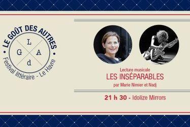 Marie Nimier / Nadj : Lecture musicale Les inséparables – Une création Le Goût des Autres