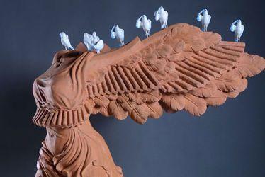 L'oeuvre de l'artiste chinois Yiming Min exposée à Sciences Po Le Havre