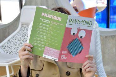 Sortie de Raymond, le nouveau magazine des bibliothèques municipales du Havre