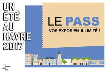 Le Pass Musées Un Eté au Havre  donne accès à toutes les expositions de 2017 pour 20€