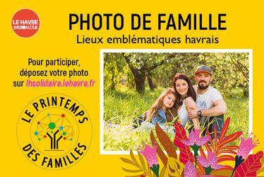 Photo de famille - Printemps des familles