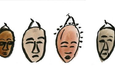 Quart d'heure des curieux - Masques d'Afrique