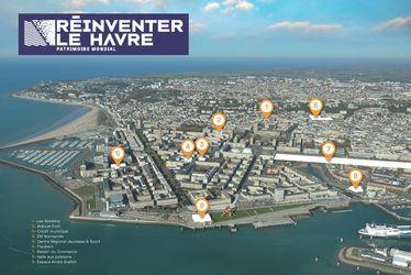 Réinventer Le Havre - Localisation des lieux