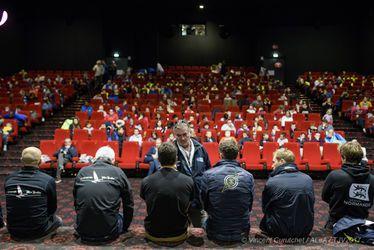 300 enfants des centres de loisirs à la rencontre des skippers pour la Transat Jacques Vabre 2017