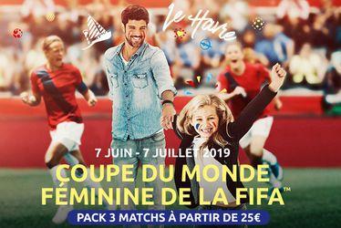 La billetterie de la Coupe du Monde Féminine de la FIFA, France 2019™ ouverte à tous