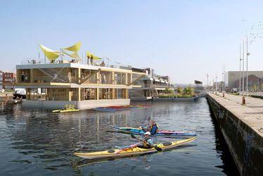Barges & Berges : des barges mobiles entre Le Havre et Paris