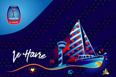 Présentation du trophée de la Coupe du Monde Féminin de la FIFA, France 2019TM
