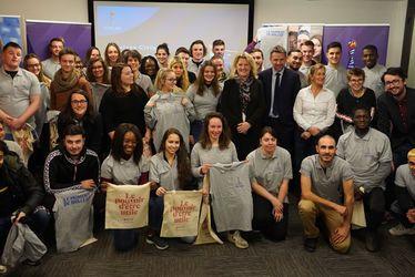 Quatre volontaires Service Civique au Havre pour la Coupe du Monde Féminine de la FIFA, France 2019™