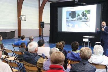 Aménagement place Vavasseur : le projet définitif présenté aux habitants