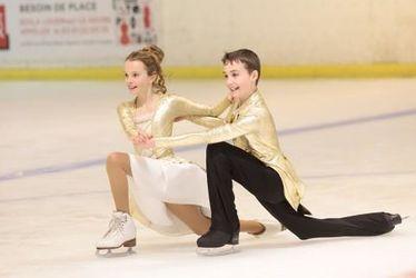 Danse sur glace - Vivez les championnats de France jeunes au Havre