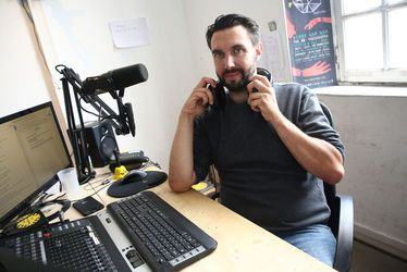 Matthieu Lechevallier, créateur et animateur de Ouest Track Radio