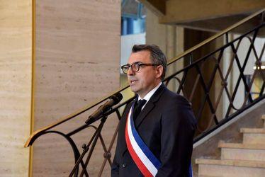 Luc Lemonnier, maire du Havre et président de la CODAH, la municipalité et les Havrais présents ont rendu hommage à l'ensemble des victimes de l'attaque de Trèbes et de Carcassonne, mercredi 28 mars à 18 h dans le hall François 1er de l'Hôtel de Ville