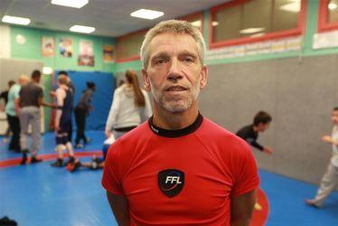 Clément Susunaga, président du Club de lutte havrais