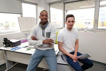 Abou M'Bodji et Mustapha Aït Ouaissi, deux amis au service de l'emploi et de l'insertion