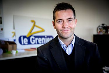 "Vincent Canel, association Le Grenier : ""Notre chantier d'insertion revalorise 100 % des textiles collectés"""