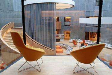 Les architectes aiment Le Havre - La bibliothèque Oscar Niemeyer