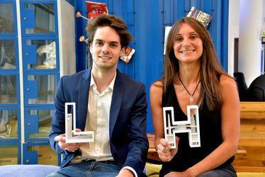 Boris Lembicz et Brigitte Da Silva, créateurs de LetterIN