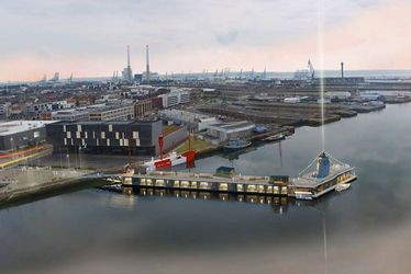 Rêver : dormir, manger et marcher sur l'eau - Projet Réinventer la Seine - Paris - Rouen - Le Havre