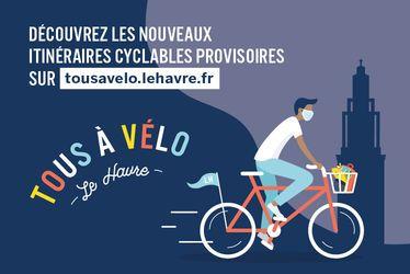 Quatre nouveaux itinéraires et des aménagements temporaires pour dynamiser l'usage du vélo