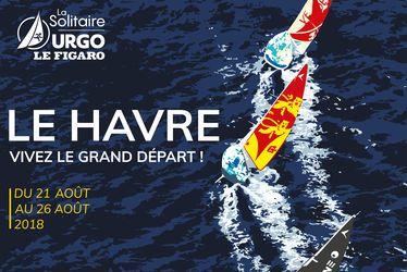 Le Havre, ville départ de La Solitaire URGO Le Figaro 2018
