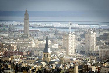 Le Havre vu d'en haut