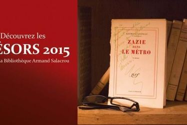 « Zazie dans le métro » au cœur de l'exposition Trésors à la bibliothèque Armand Salacrou