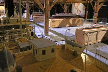 Exposition Villes Flottantes, dans le Grenier des Docks