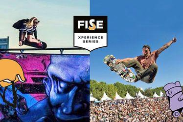 Garbaccio / Lemieux : Les deux skaters havrais reviennent du 24 au 26 août au Week-End de la Glisse - étape du Festival International des Sports Extrêmes (FISE) au Havre