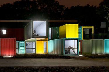 """Installation """"Araneola Le Havre"""" de Friedrich Van Schoor"""