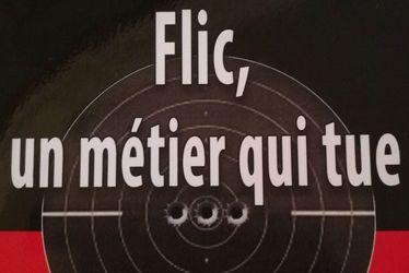 """Dédicace de Pascal Drampe dit Blanco pour """"Flic, un métier qui tue"""""""