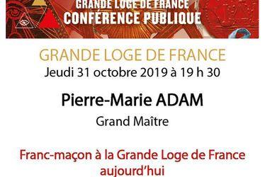 Franc-maçon à la Grande Loge de France aujourd'hui