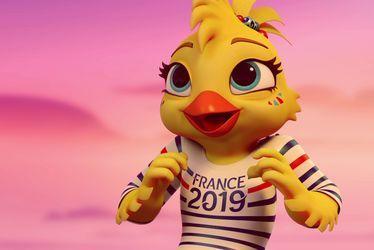 Ettie, mascotte officielle de la Coupe du Monde Féminine de la FIFA™, France 2019
